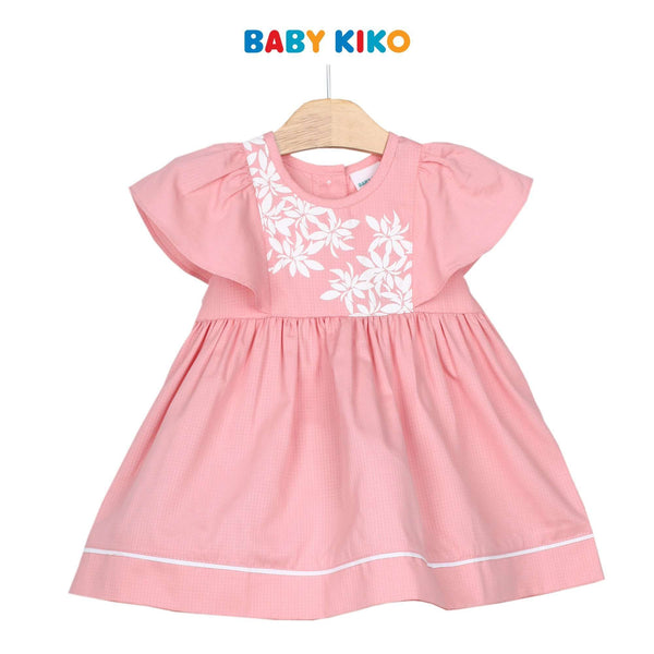 Baby KIKO Baby Girl Short Sleeve Dress 310194-312 : Buy Baby KIKO online at CMG.MY