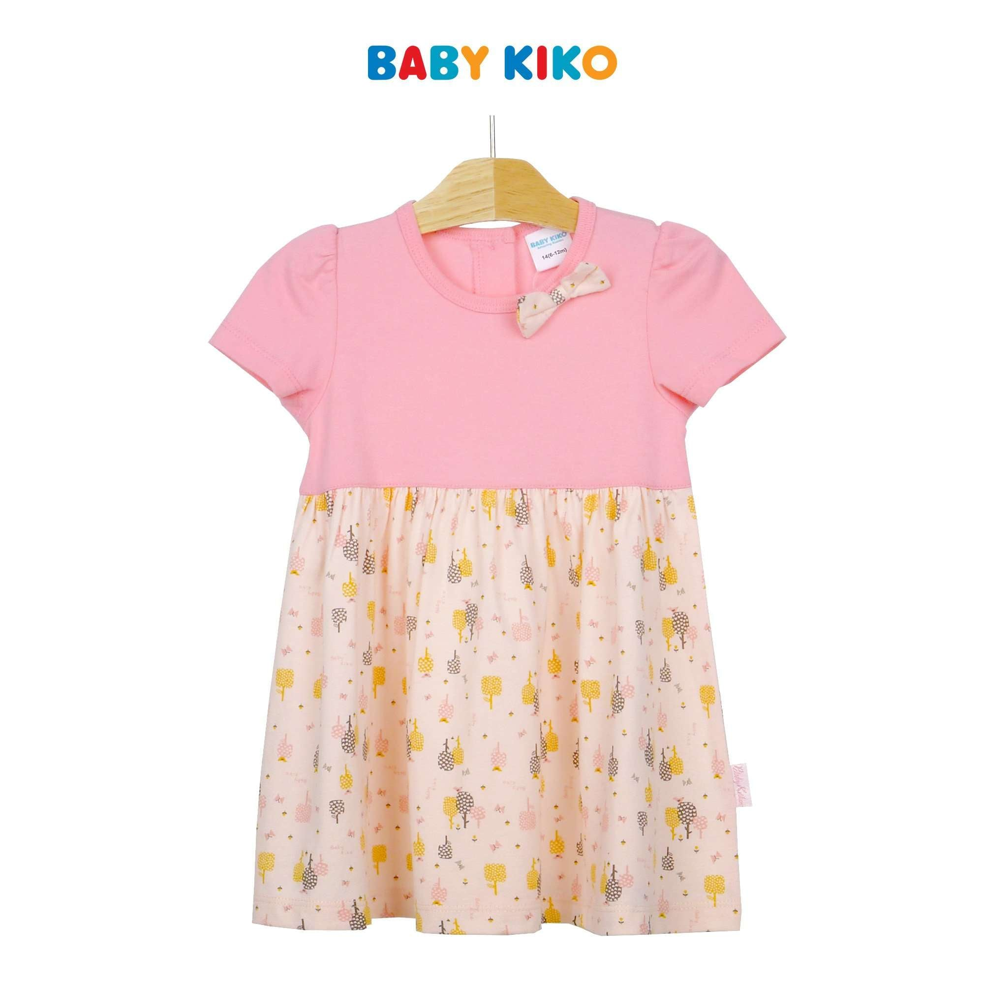 Baby KIKO Baby Girl Short Sleeve Dress 320114-331 : Buy Baby KIKO online at CMG.MY