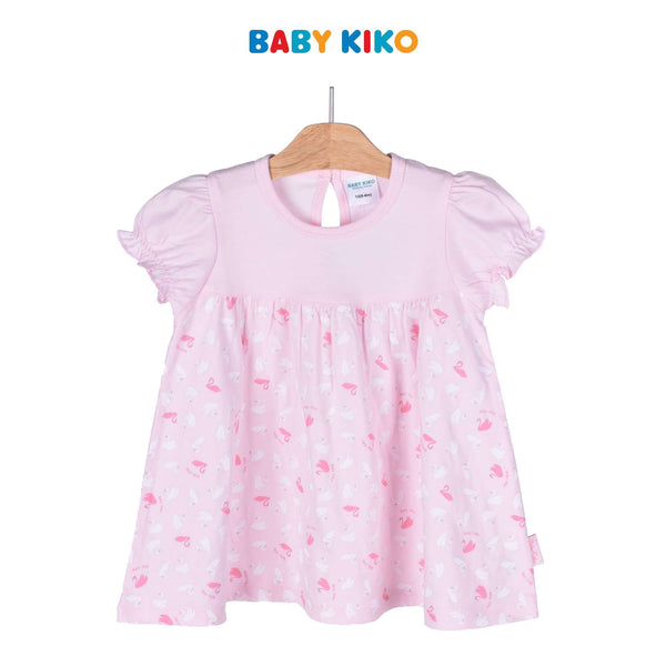 Baby KIKO Baby Girl Short Sleeve Dress 320137-331 : Buy Baby KIKO online at CMG.MY