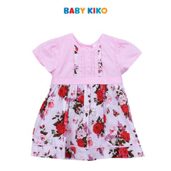 Baby KIKO Baby Girl Short Sleeve Dress with Panties B924001-3202-P5 : Buy Baby KIKO online at CMG.MY
