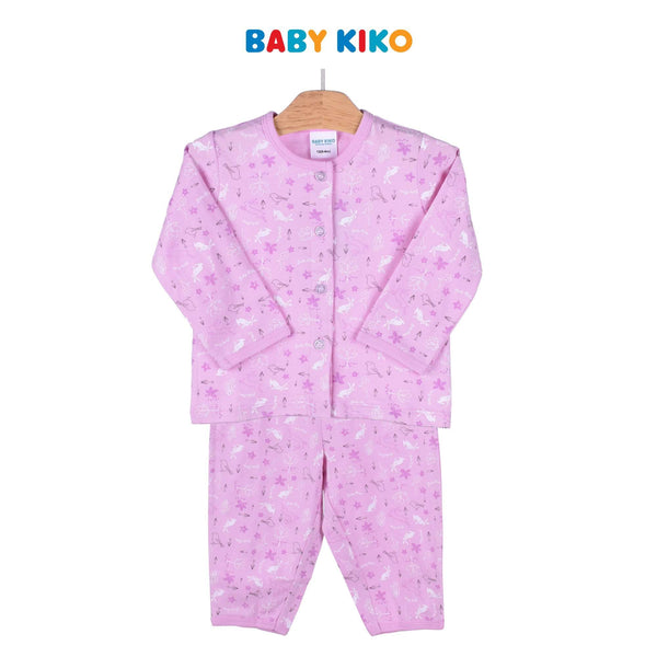 Baby KIKO Baby Girl Short Sleeve Long Pants Suit 320148-431 : Buy Baby KIKO online at CMG.MY