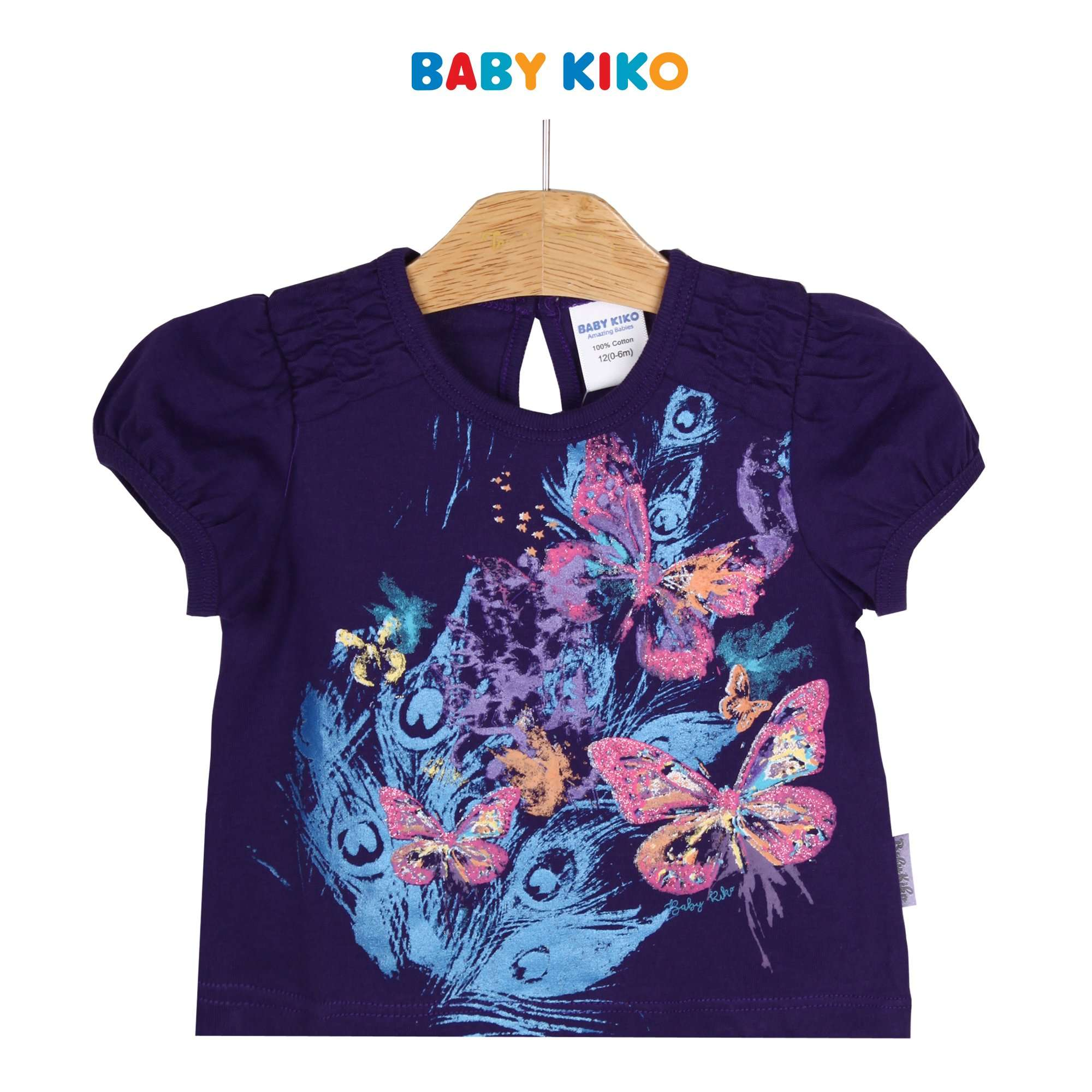 Baby KIKO Baby Girl Short Sleeve Tee - 330070-111 : Buy Baby KIKO online at CMG.MY