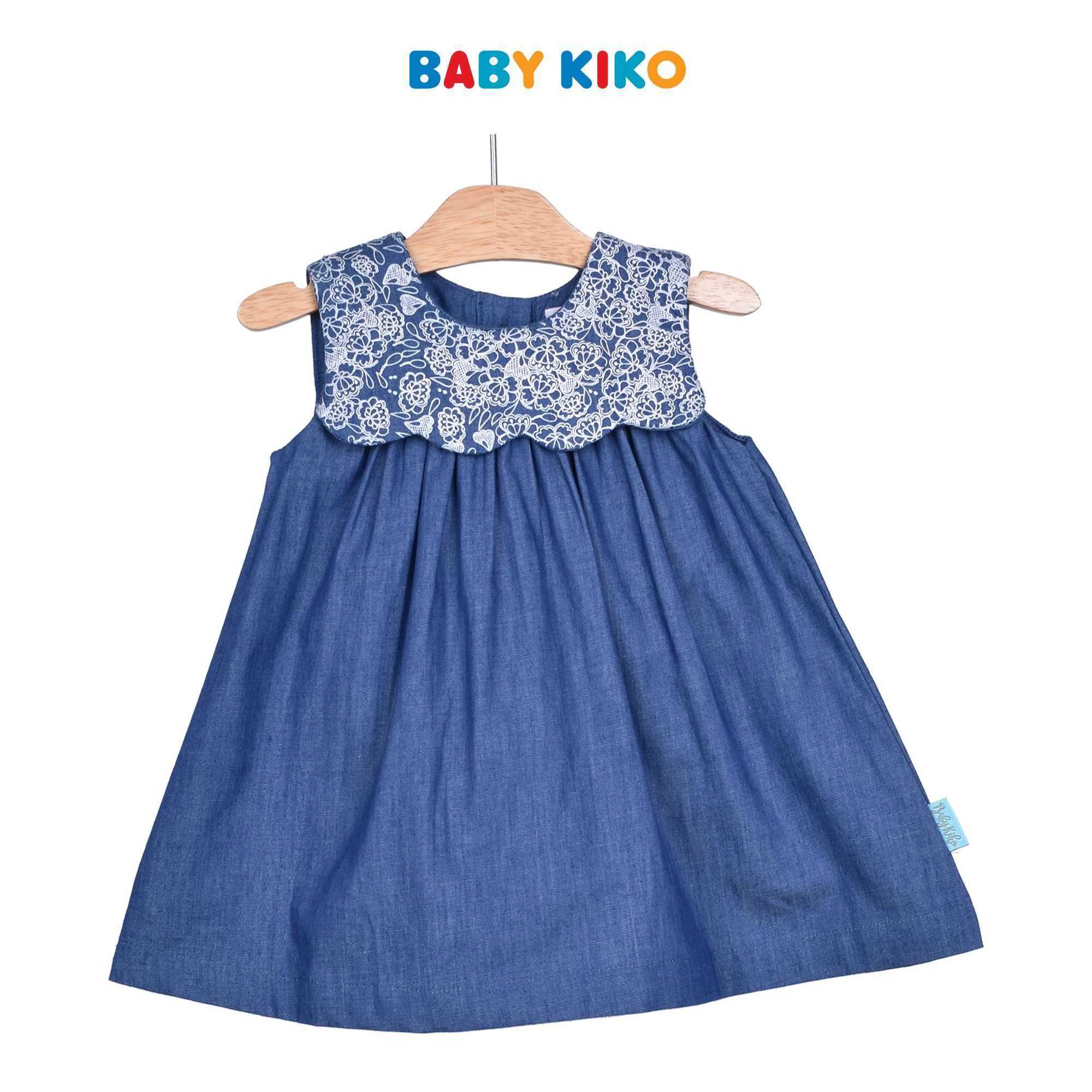 Baby KIKO Baby Girl Sleeveless Dress - Blue 310184-311 : Buy Baby KIKO online at CMG.MY