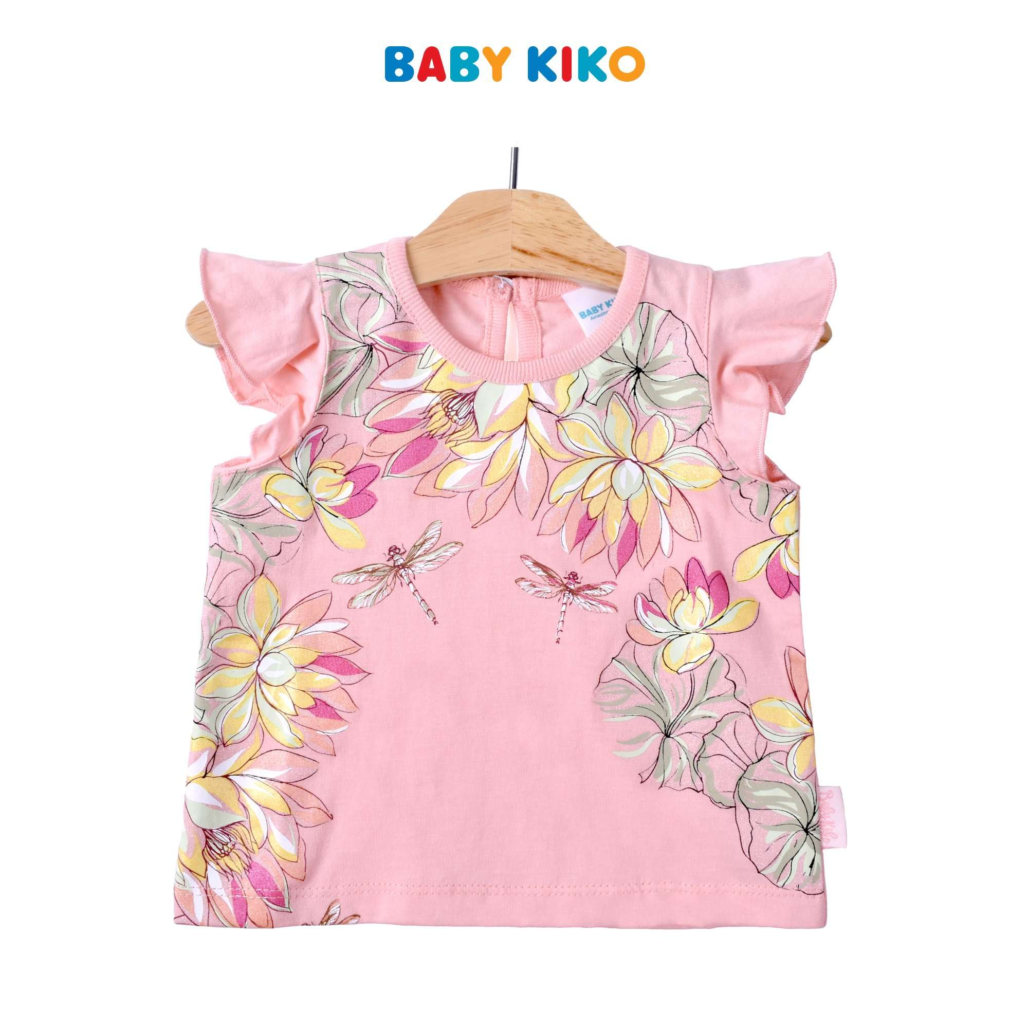 Baby KIKO Baby Girl Sleeveless Tee- Pink 330142-111 : Buy Baby KIKO online at CMG.MY