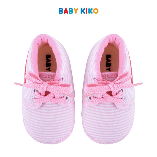 Baby KIKO Baby Girl Textile Shoes - Pink B924106-5092-P5 : Buy Baby KIKO online at CMG.MY