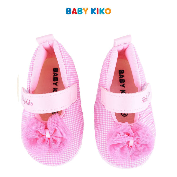 Baby KIKO Baby Girl Textile Shoes - Pink B924106-5094-P5 : Buy Baby KIKO online at CMG.MY