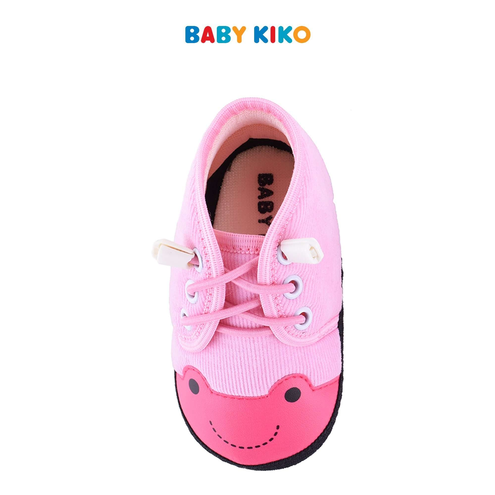 Baby KIKO Baby Girl Textile Shoes - Pink B924106-5097-P5 : Buy Baby KIKO online at CMG.MY