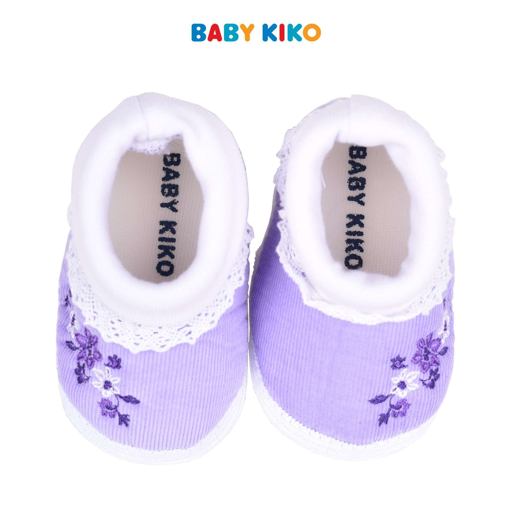 Baby KIKO Baby Girl Textile Shoes - Purple 310169-512 : Buy Baby KIKO online at CMG.MY