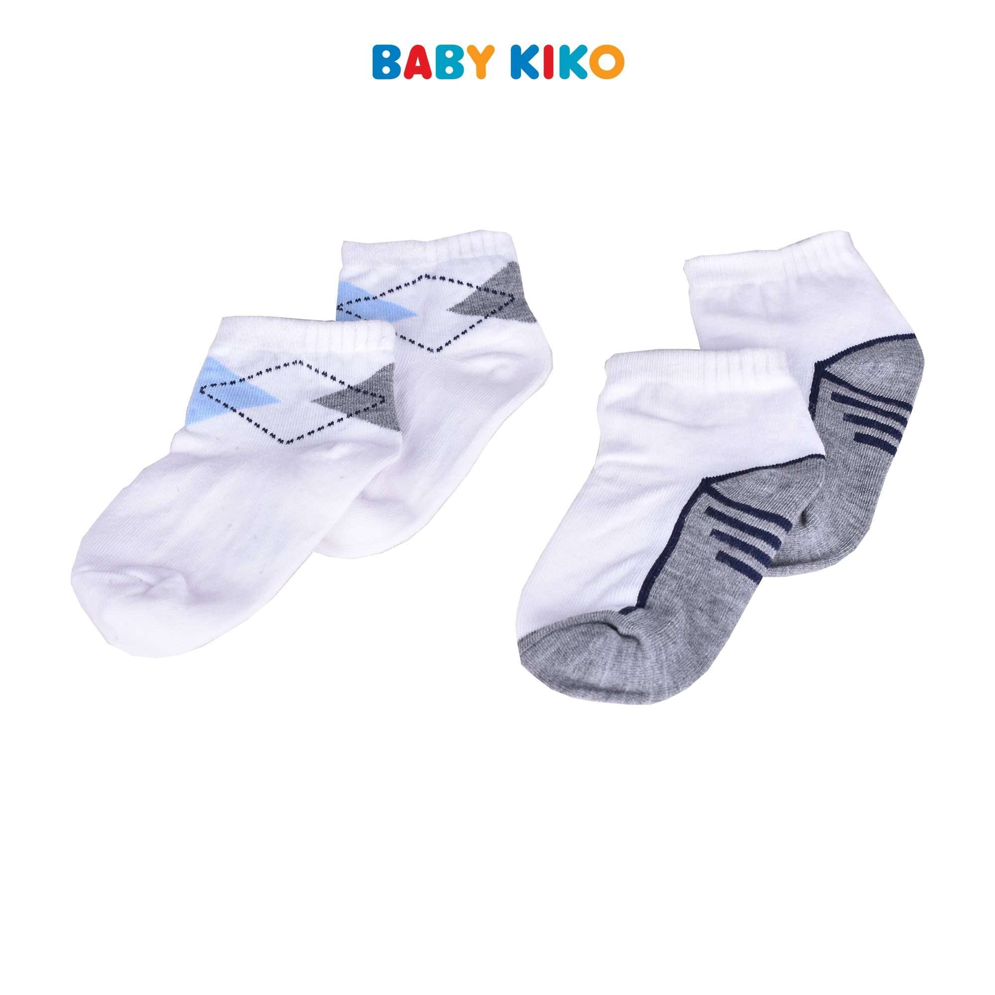 Baby KIKO Toddler Boy Ankle Height Socks 757 Kids Baby