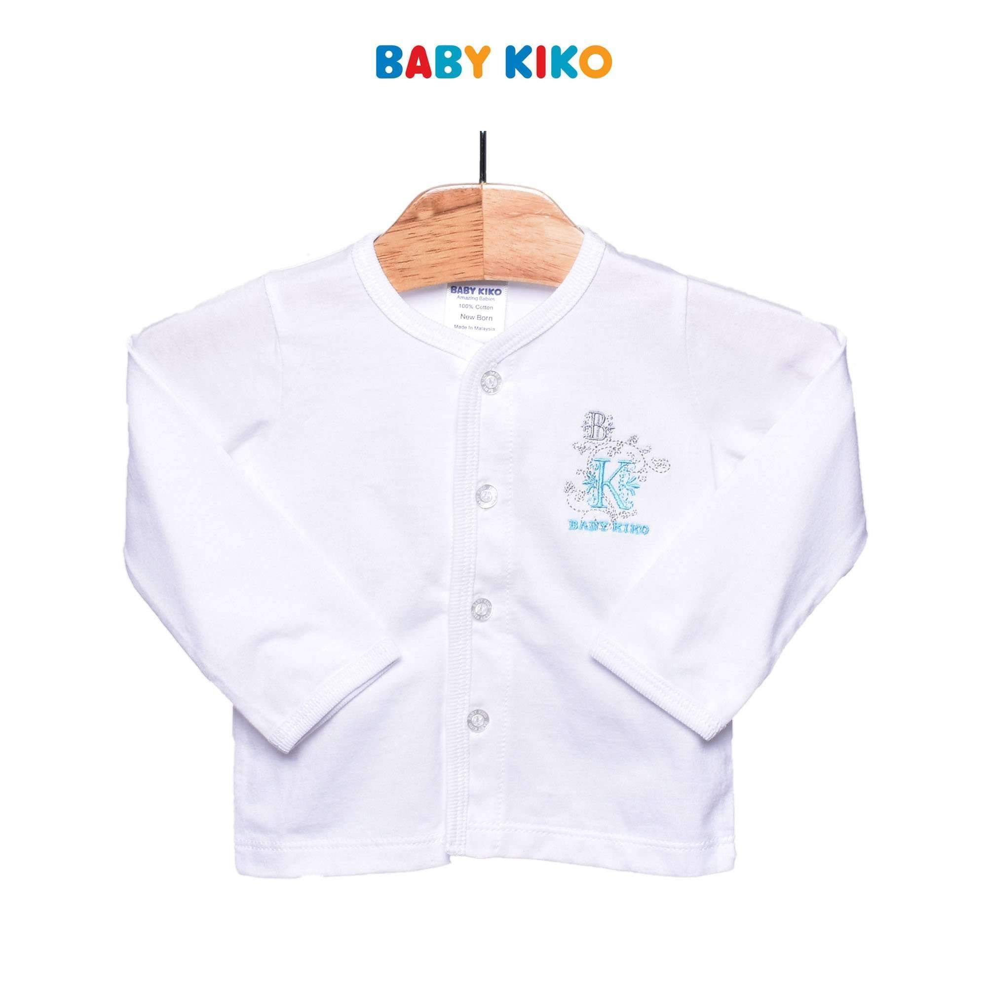 Baby KIKO Baby Boy Long Sleeve Tee - White 310037-131 : Buy Baby KIKO online at CMG.MY