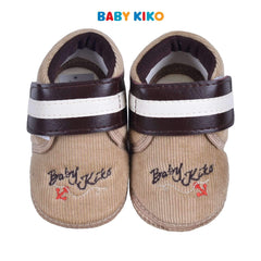 Baby KIKO Baby Boy Textile Shoes - Khaki 310167-503 : Buy Baby KIKO online at CMG.MY