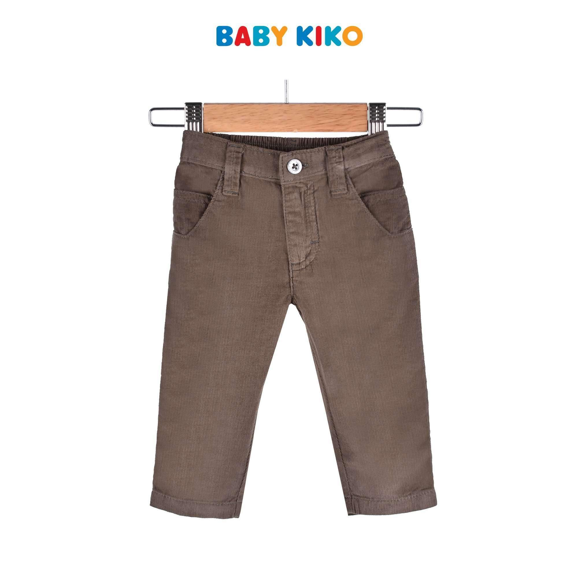 Baby KIKO Baby Boy Woven Long Pants - Brown 310116-252 : Buy Baby KIKO online at CMG.MY