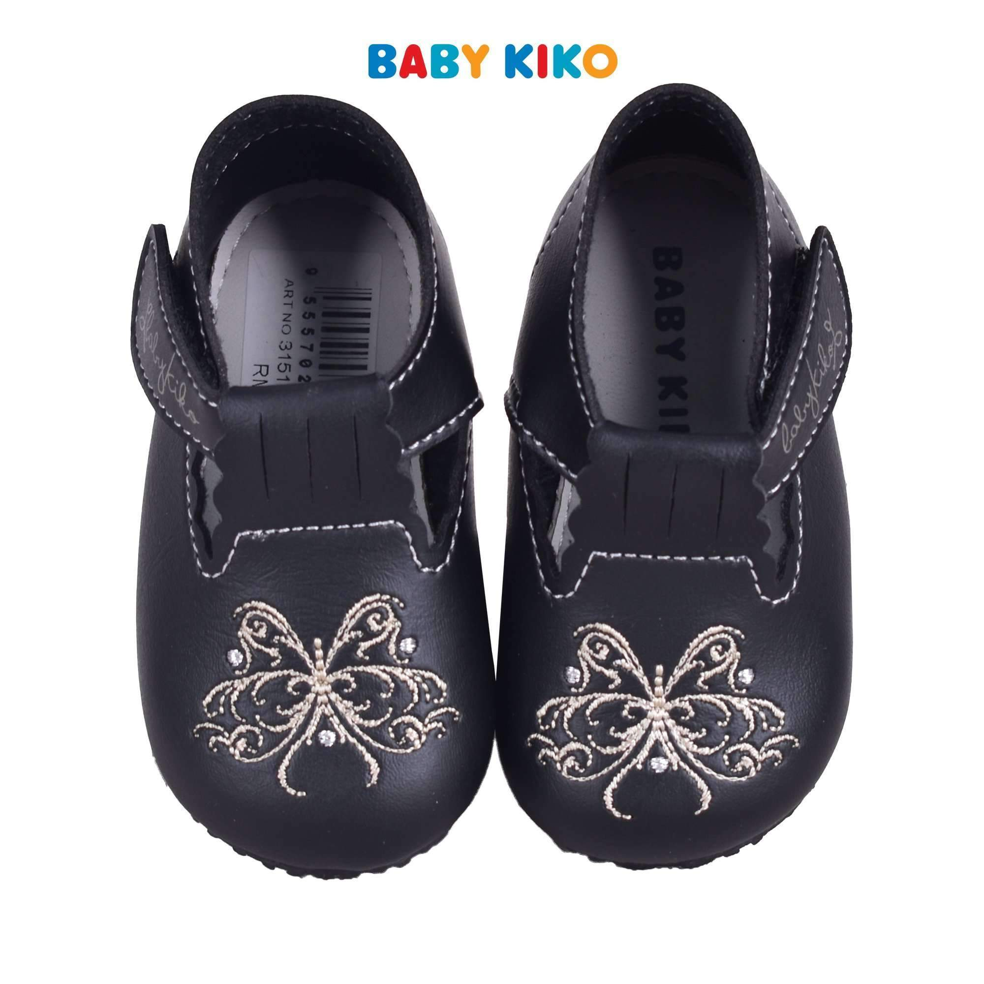 Baby KIKO Toddler Girl PVC Shoes - Black 315129-524 : Buy Baby KIKO online at CMG.MY