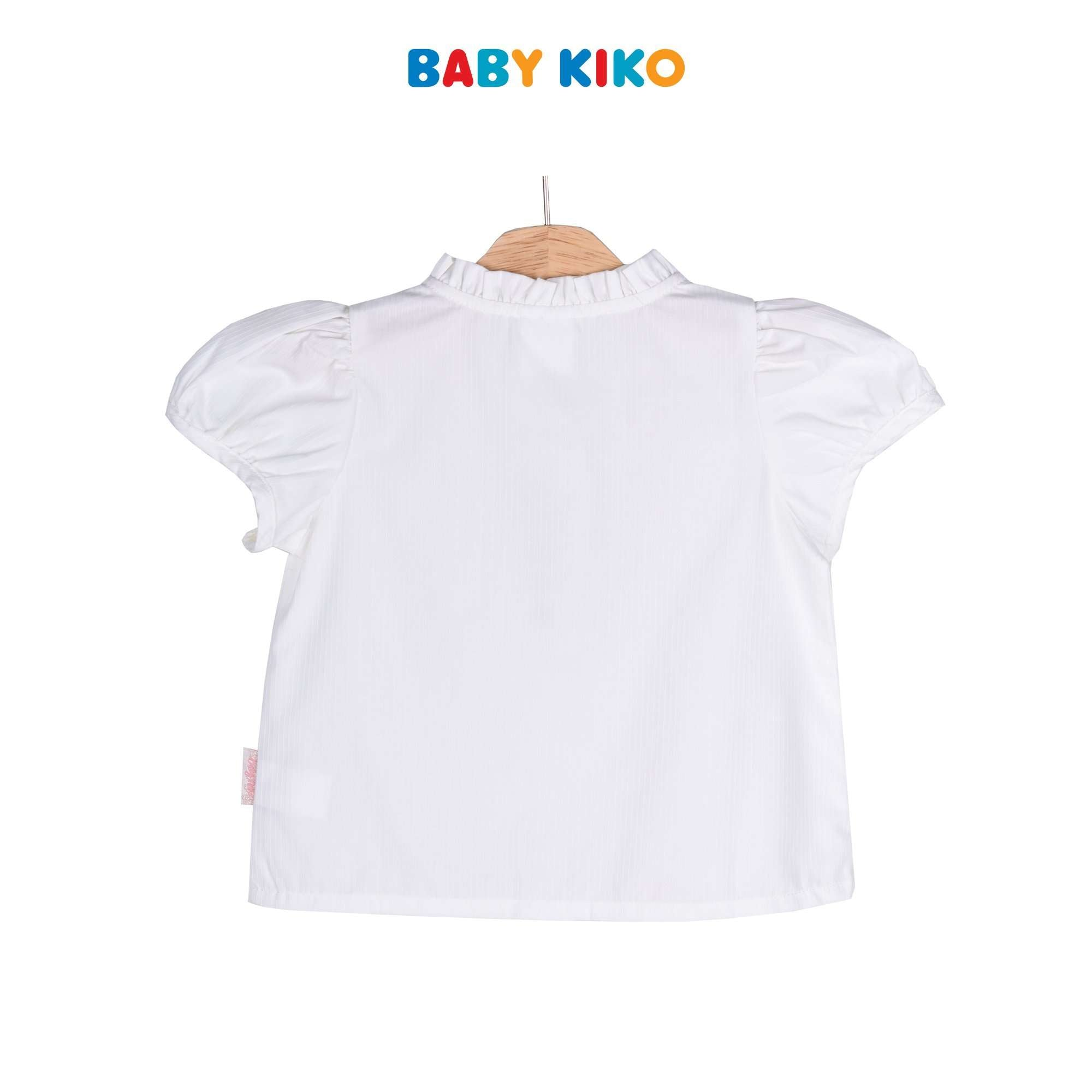 Baby KIKO Toddler Girl Short Sleeve Blouse 335132-141 : Buy Baby KIKO online at CMG.MY