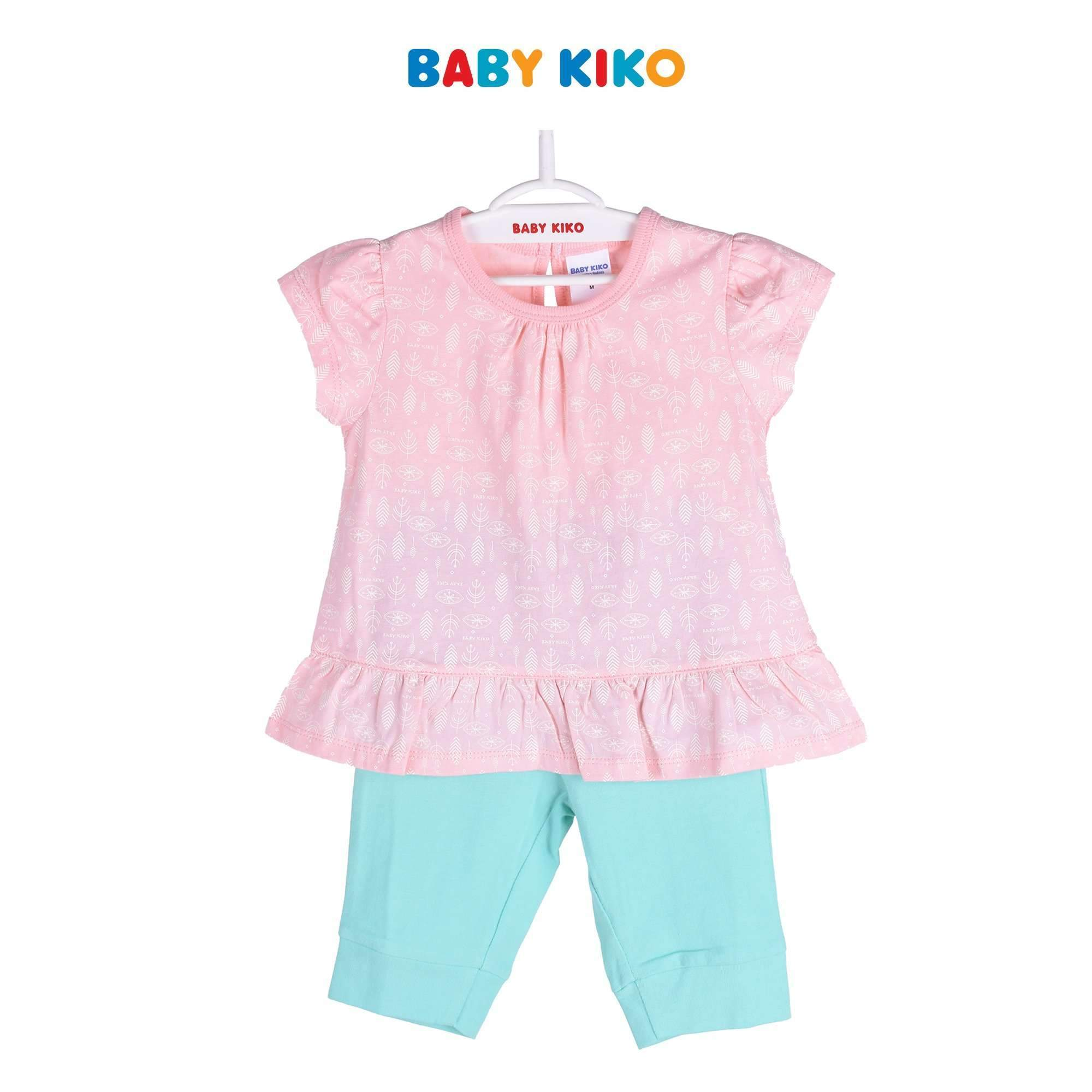Baby KIKO Toddler Girl Short Sleeve Legging Suit - Pink 325109-411 : Buy Baby KIKO online at CMG.MY
