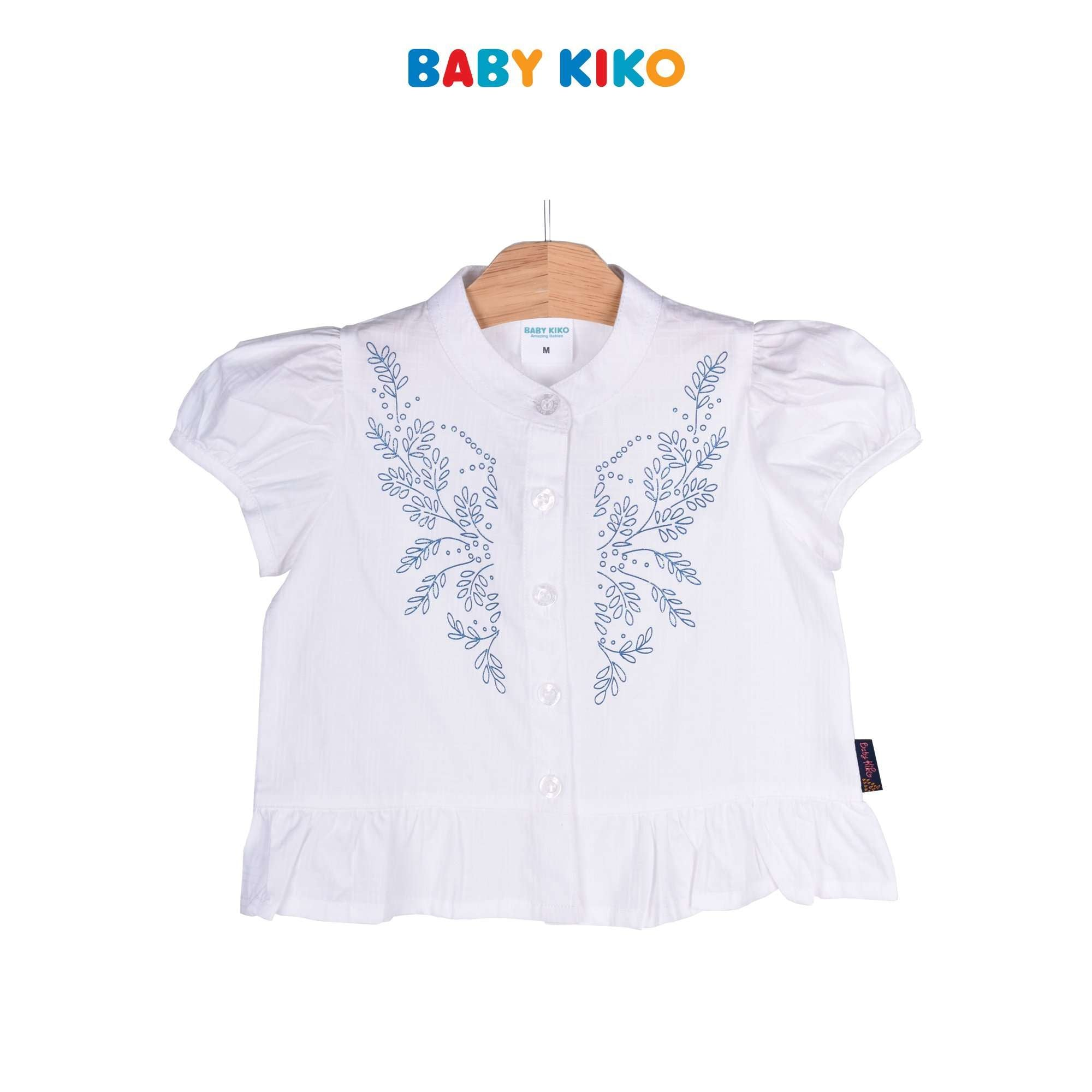 Baby KIKO Toddler Girl Short Sleeve Shirt 335120-141 : Buy Baby KIKO online at CMG.MY