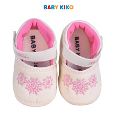 Baby KIKO Baby Girl Textile Shoes - Beige 310168-501 : Buy Baby KIKO online at CMG.MY