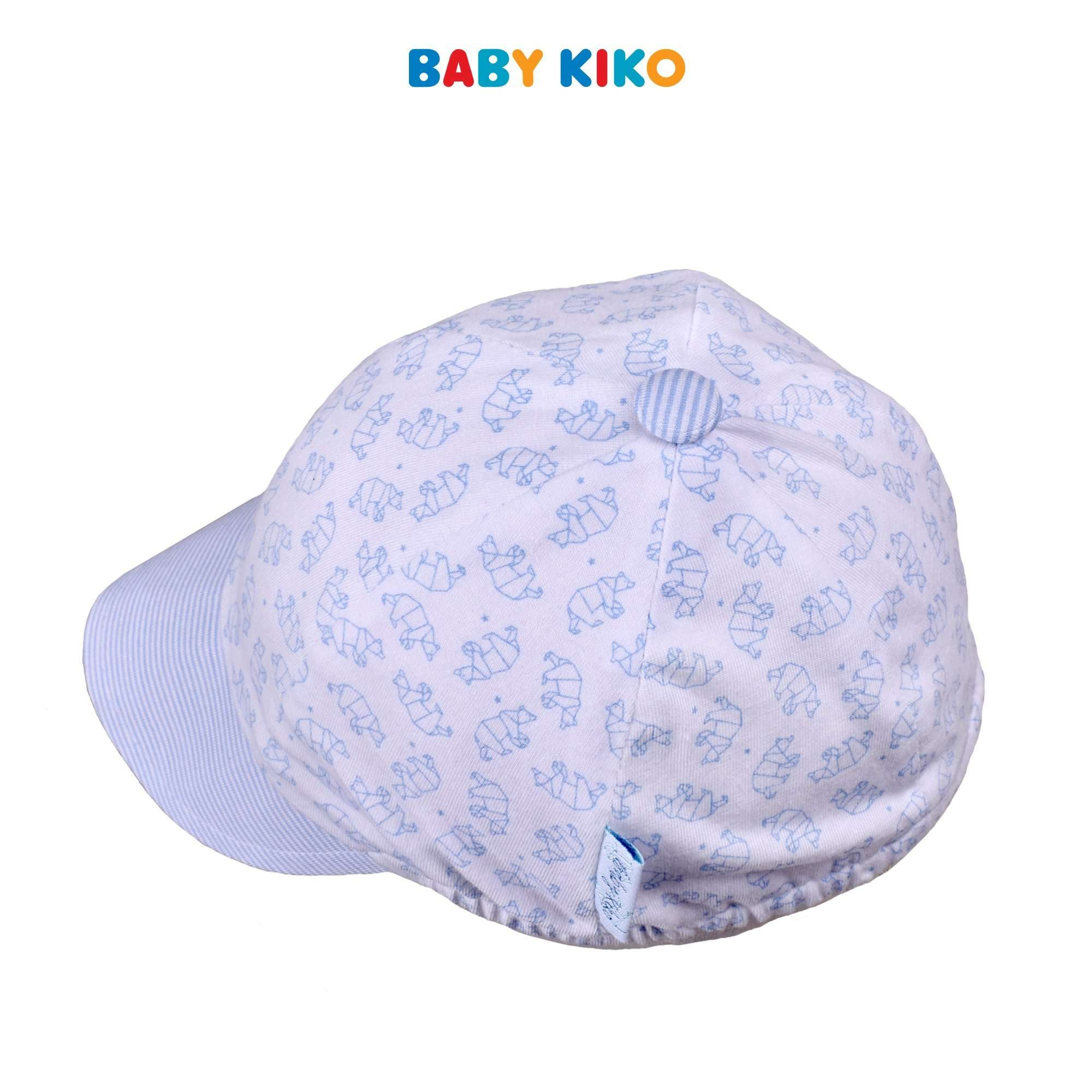 Baby KIKO Infant Boy Cap-White 310182-711 : Buy Baby KIKO online at CMG.MY