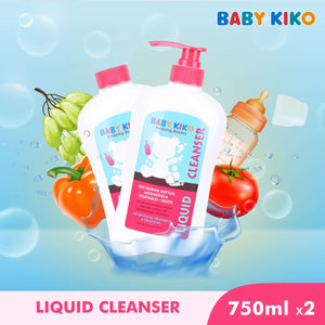 Baby KIKO Liquid Cleanser 2pcs Per Pack - 750ml 3671-003 : Buy Baby KIKO online at CMG.MY
