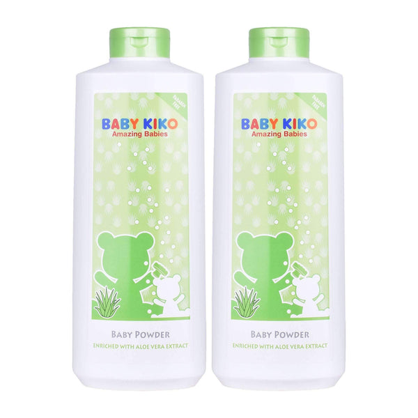Baby KIKO Moisturizing Baby Powder with Aloe Vera - Twin Pack (500g x 2) 3654-001 : Buy Baby KIKO online at CMG.MY