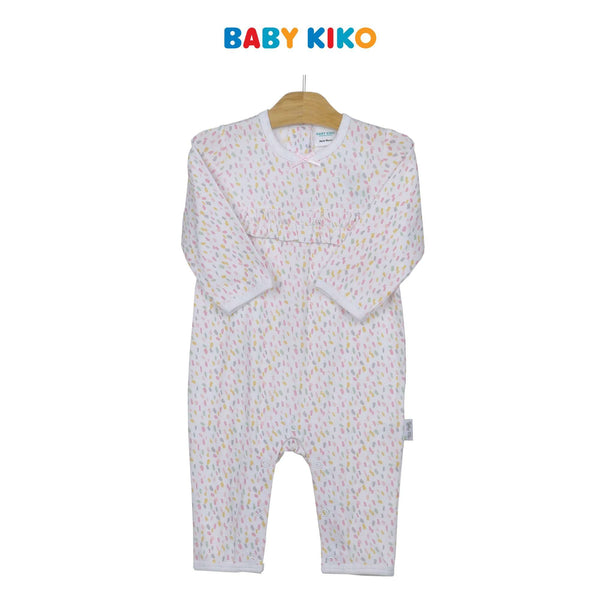 Baby KIKO Baby Girl Long Sleeve Long Romper 310192-361 : Buy Baby KIKO online at CMG.MY