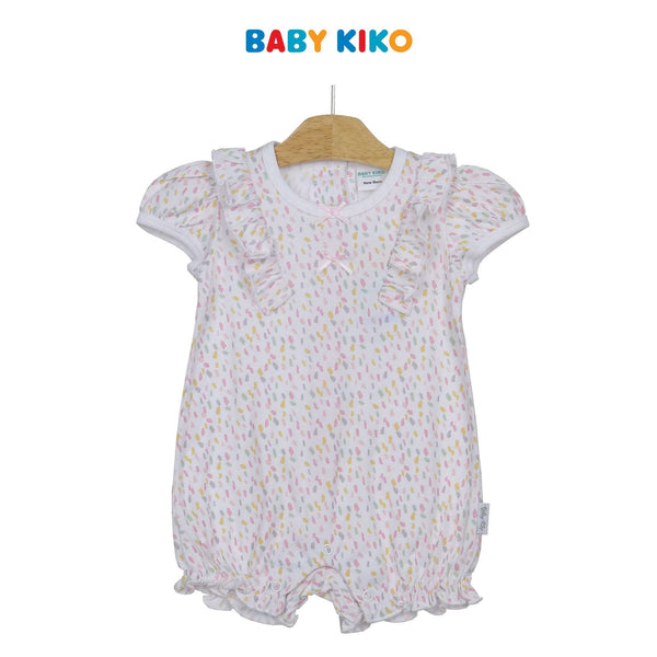 Baby KIKO Baby Girl Short Sleeve Short Romper 310192-362 : Buy Baby KIKO online at CMG.MY