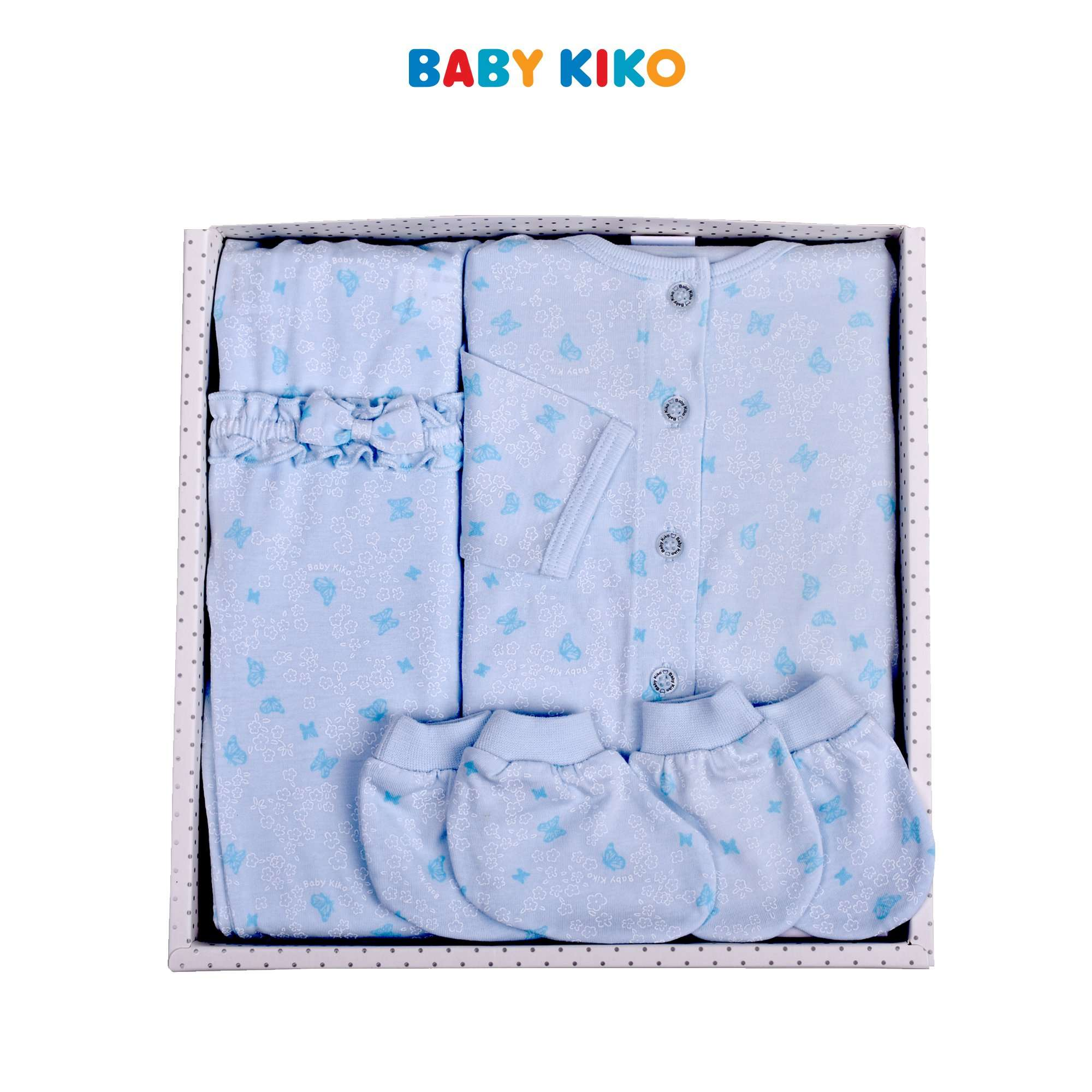 Baby KIKO New Born Baby Boy Gift Set-Floral Blue 320159-601 : Buy Baby KIKO online at CMG.MY