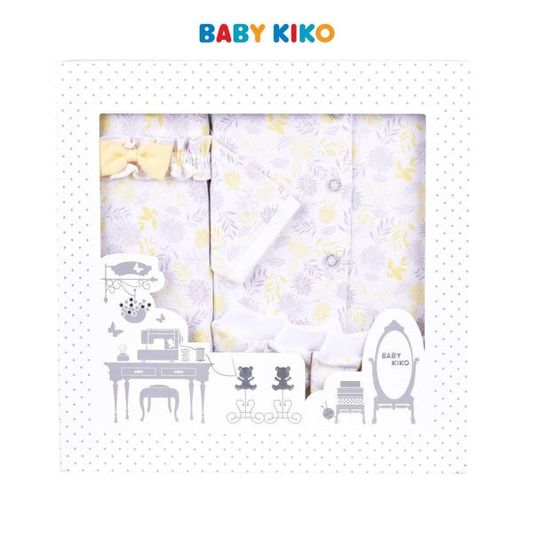 Baby KIKO New Born Baby Girl Gift Set 320122-601 : Buy Baby KIKO online at CMG.MY