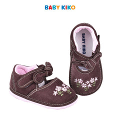 Baby KIKO Girl Textile Shoes - Brown 315129-506 : Buy Baby KIKO online at CMG.MY