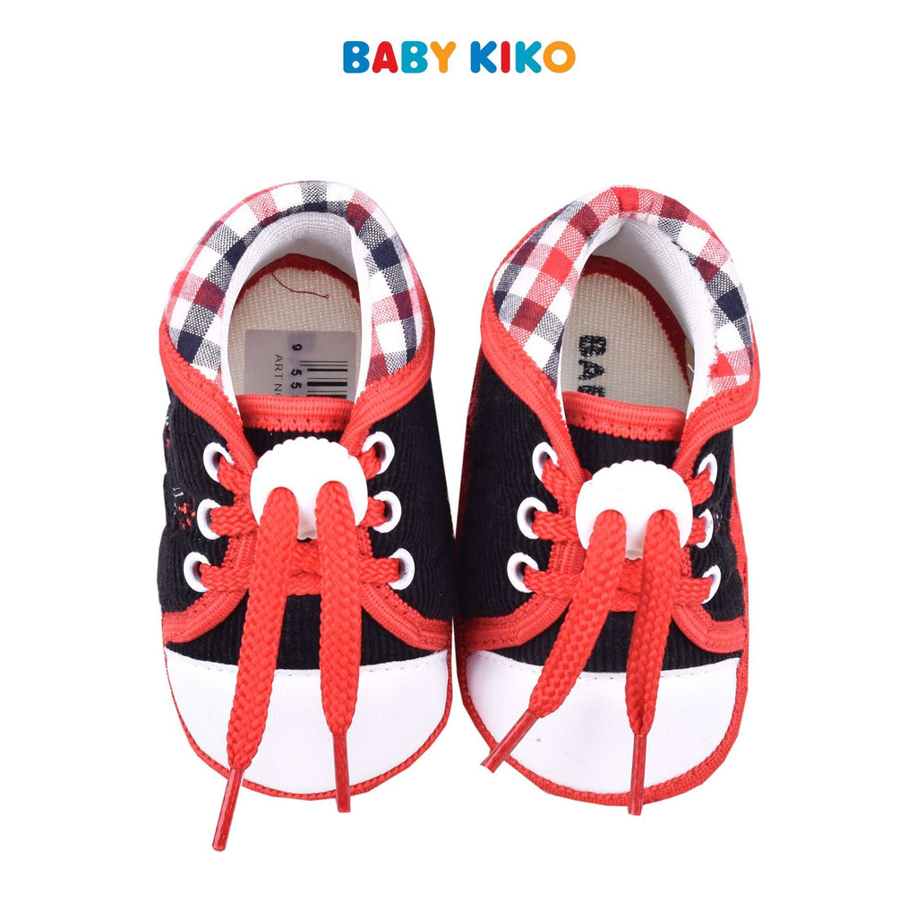 Baby KIKO Boy Textile Shoes - Red 310167-504 : Buy Baby KIKO online at CMG.MY