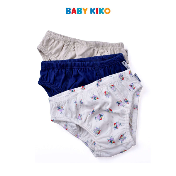 Baby KIKO Toddler Boy 3 in 1 Briefs - Variety 325196-741 : Buy Baby KIKO online at CMG.MY