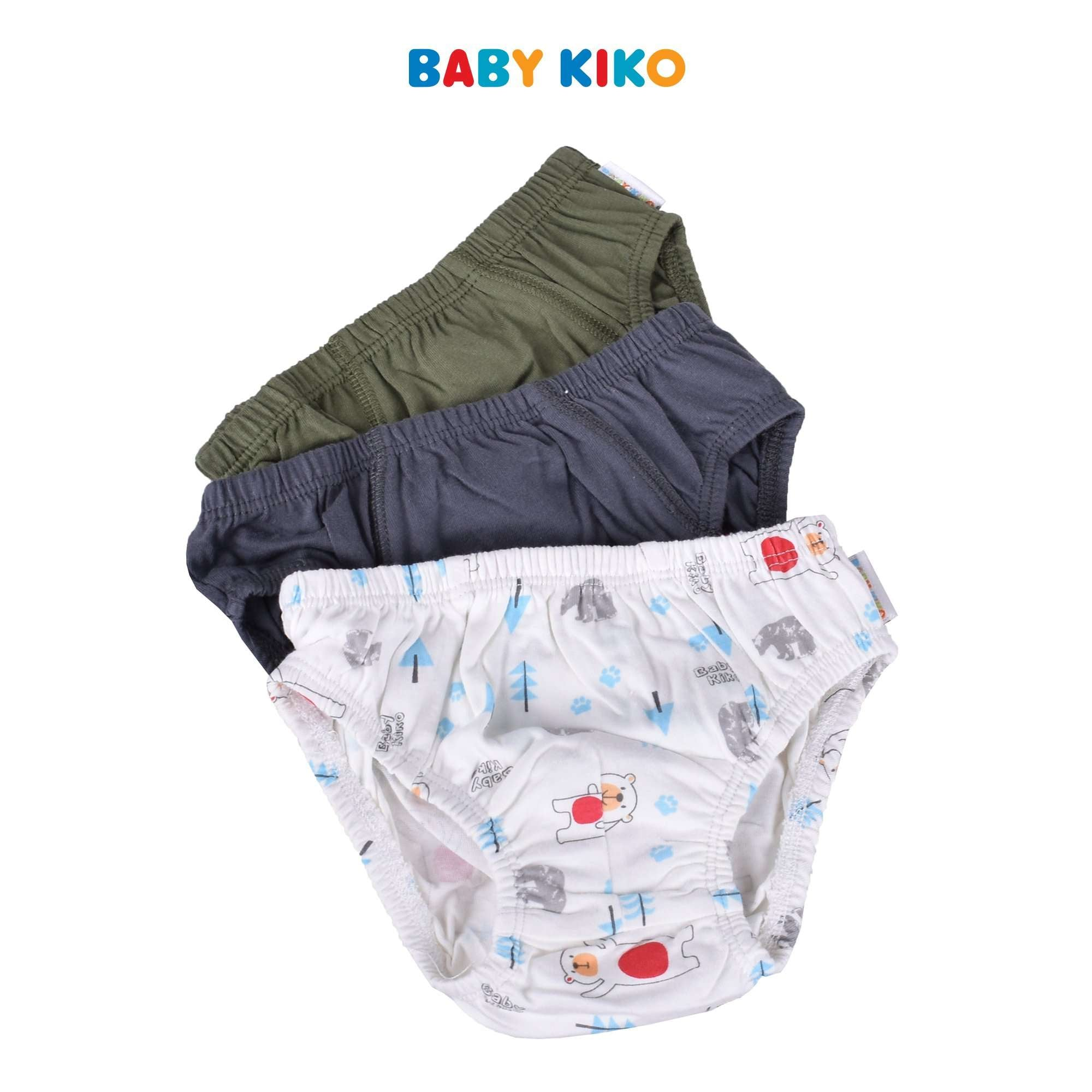 Baby KIKO Toddler Boy 3 In 1 Briefs 325121-742 : Buy Baby KIKO online at CMG.MY