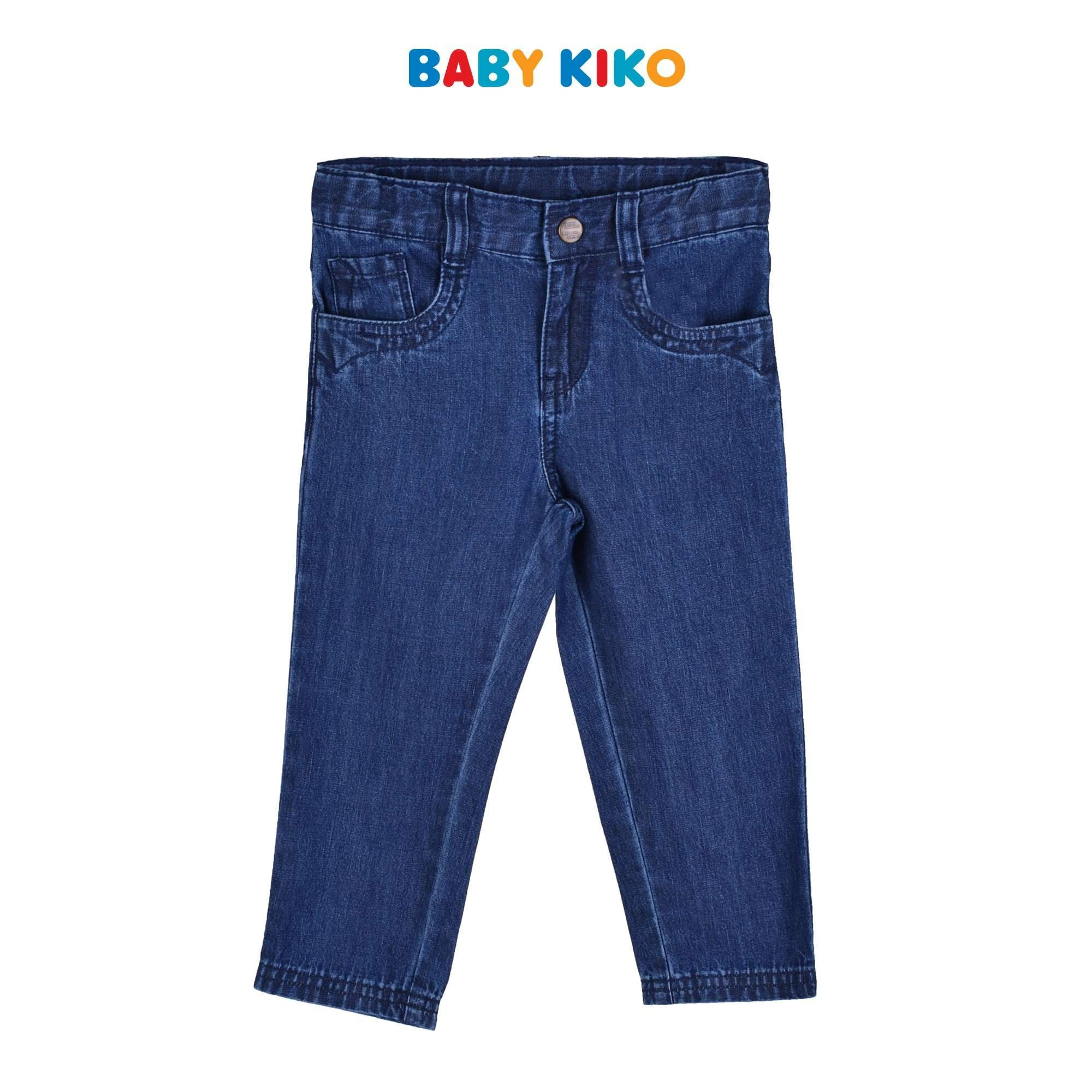 Baby KIKO Toddler Boy Jeans 335135-211 : Buy Baby KIKO online at CMG.MY