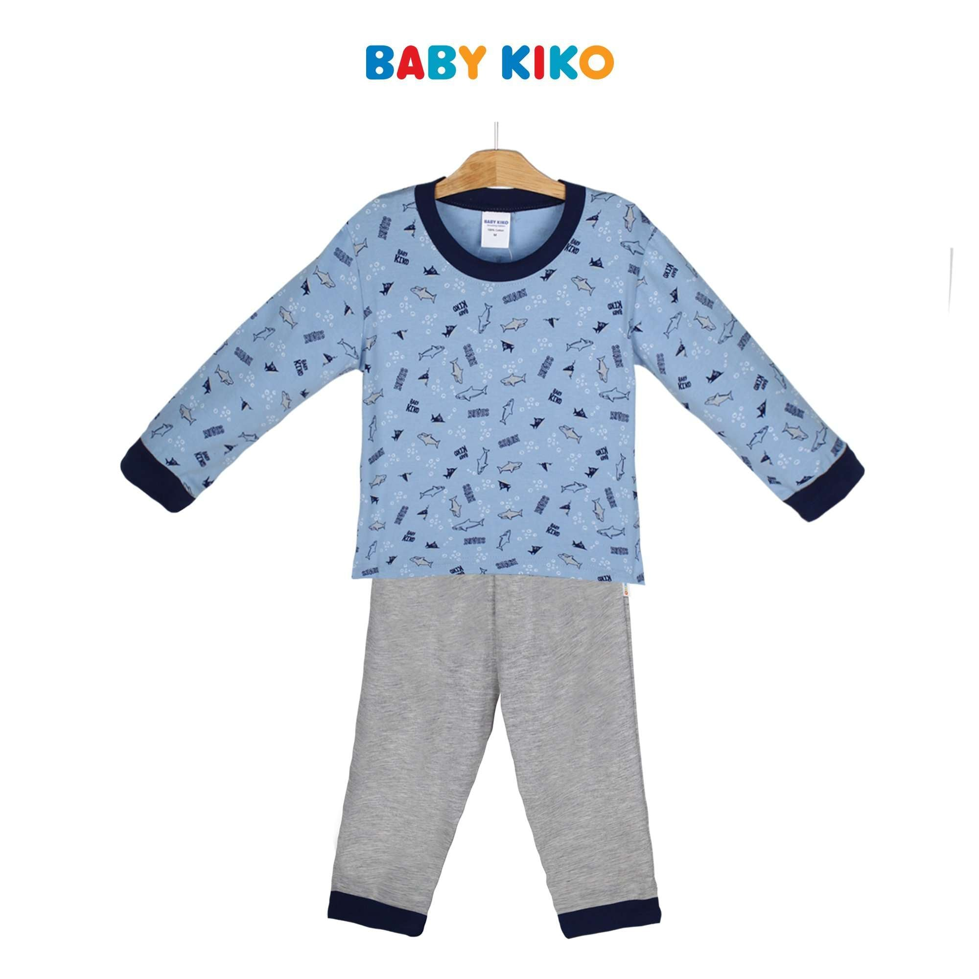 Baby KIKO Toddler Boy Long Sleeve Long Pants Suit 325157-431 : Buy Baby KIKO online at CMG.MY