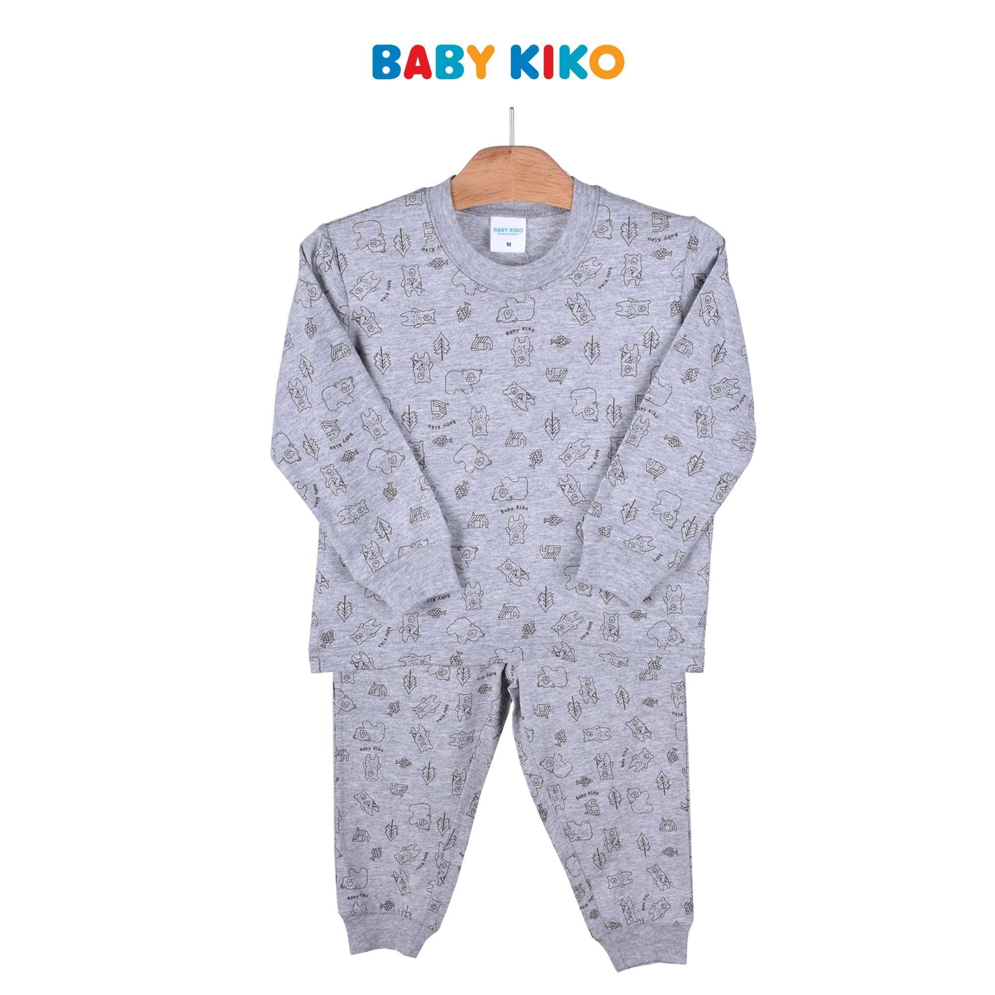 Baby KIKO Toddler Boy Pyjamas Long Sleeve Long Pants Suit 325150-431 : Buy Baby KIKO online at CMG.MY