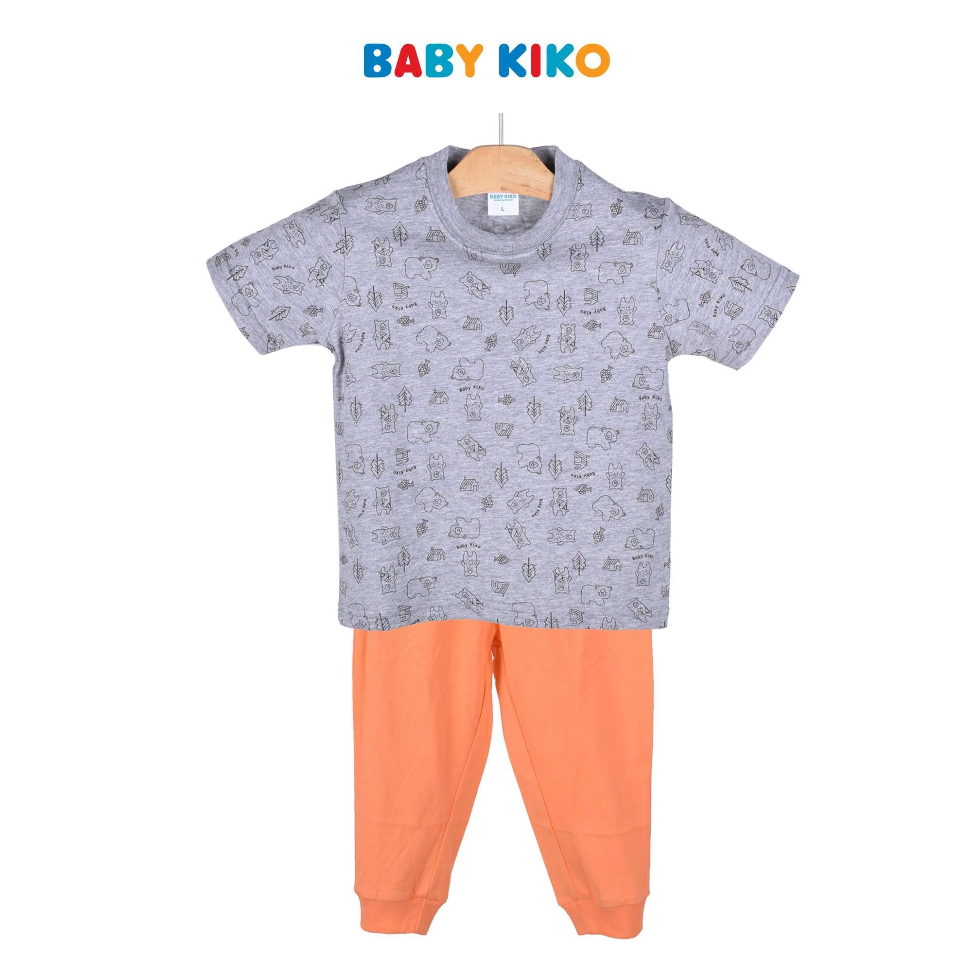 Baby KIKO Toddler Boy Short Sleeve Long Pants Suit 325150-421 : Buy Baby KIKO online at CMG.MY