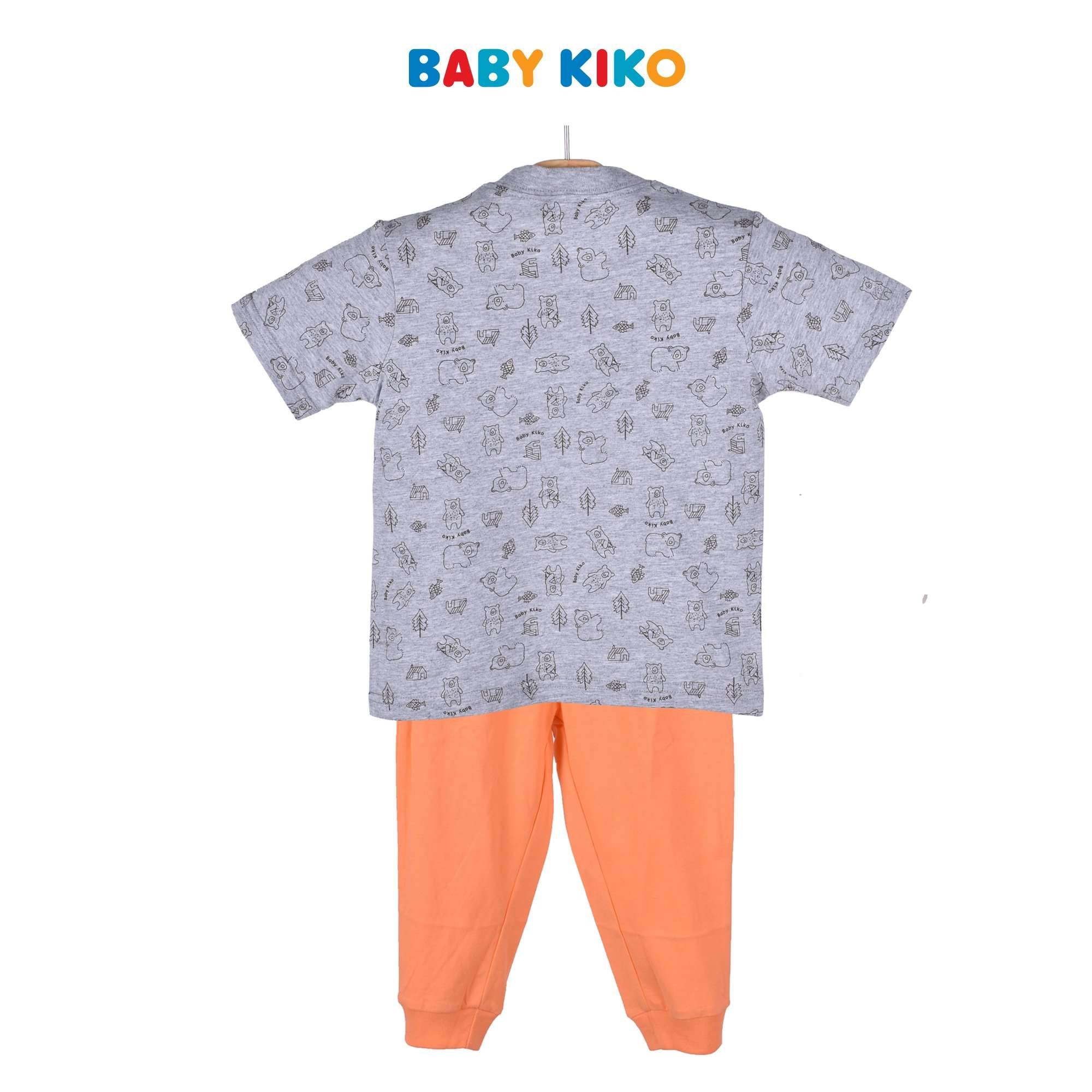 Baby KIKO Toddler Boy Pyjamas Short Sleeve Long Pants Suit 325150-421 : Buy Baby KIKO online at CMG.MY