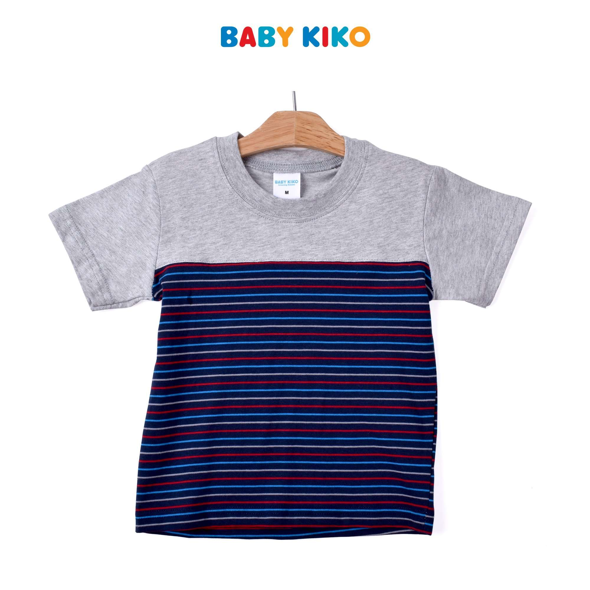 Baby KIKO Toddler Boy Short Sleeve Bermuda Suit- Melange 325193-412 : Buy Baby KIKO online at CMG.MY