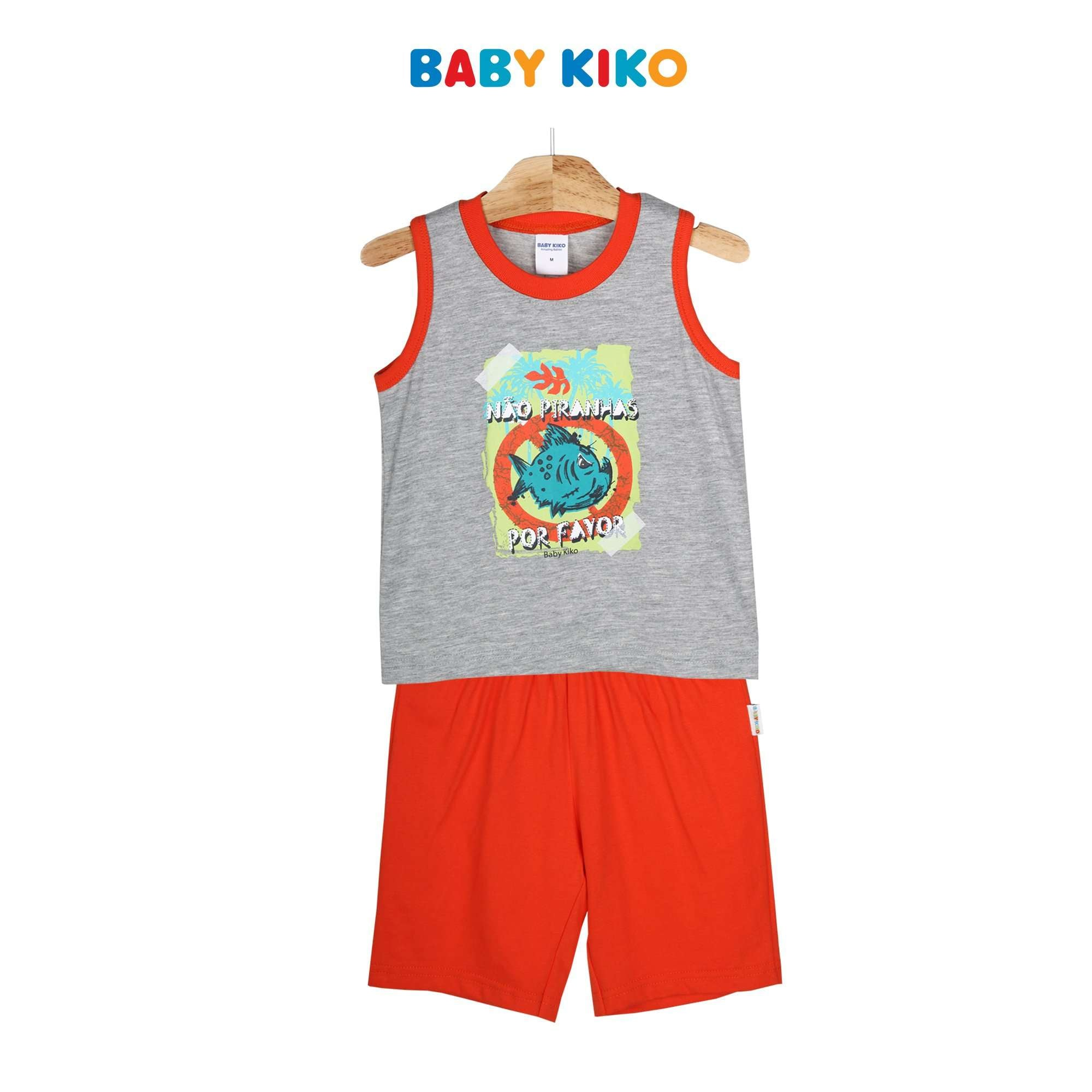 Baby KIKO Toddler Boy Short Sleeve Bermuda Suit 325149-403 : Buy Baby KIKO online at CMG.MY