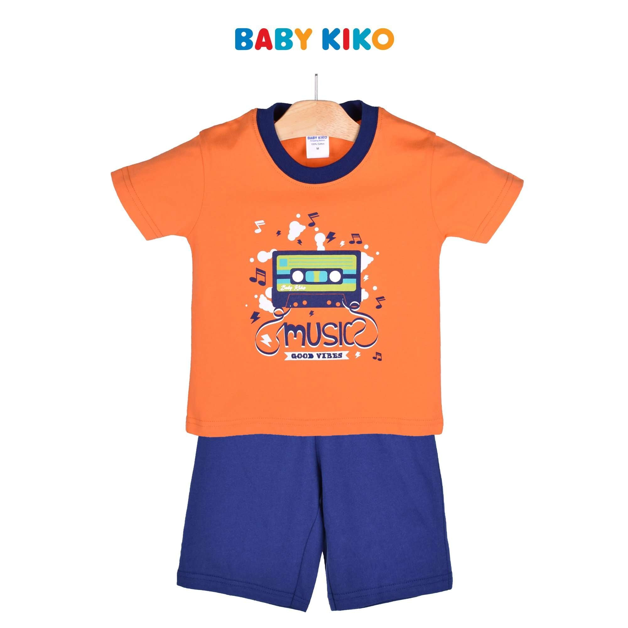 Baby KIKO Toddler Boy Short Sleeve Bermuda Suit 325151-411 : Buy Baby KIKO online at CMG.MY