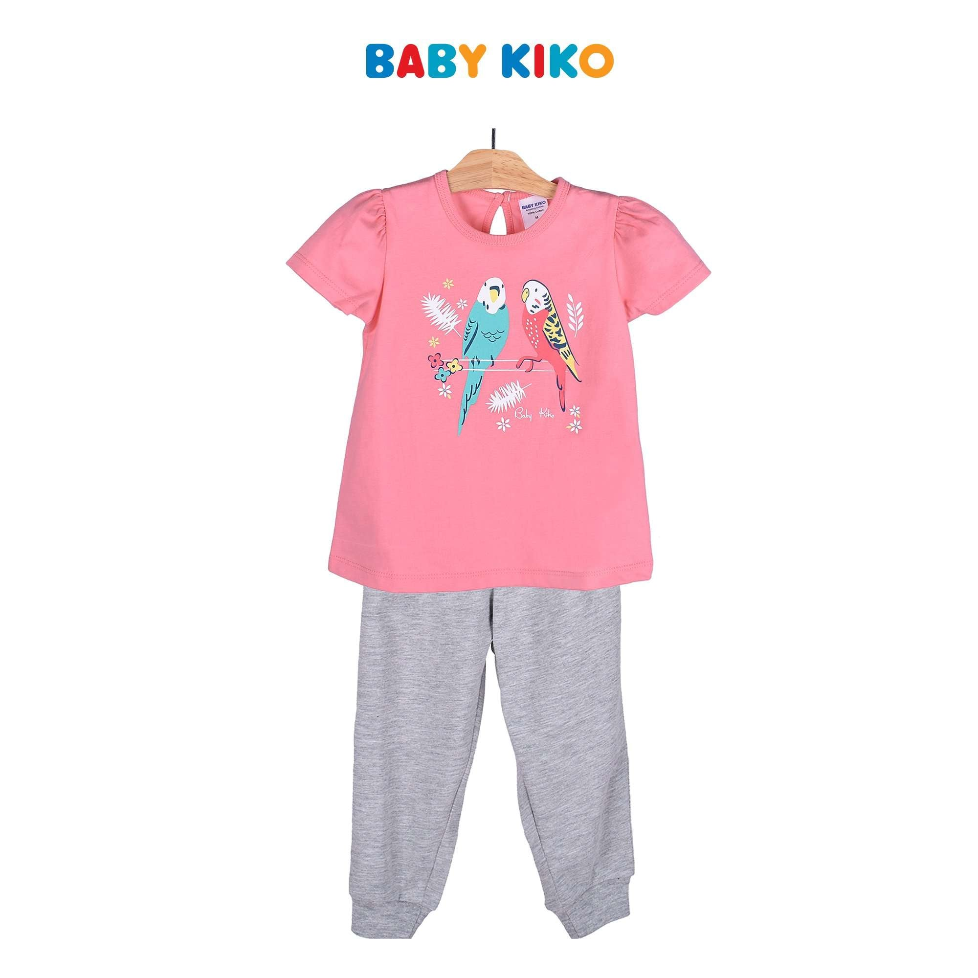 Baby KIKO Toddler Boy Short Sleeve Long Pants Suit - Peach 325145-421 : Buy Baby KIKO online at CMG.MY