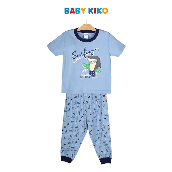 Baby KIKO Toddler Boy Short Sleeve Long Pants Suit 325157-421 : Buy Baby KIKO online at CMG.MY