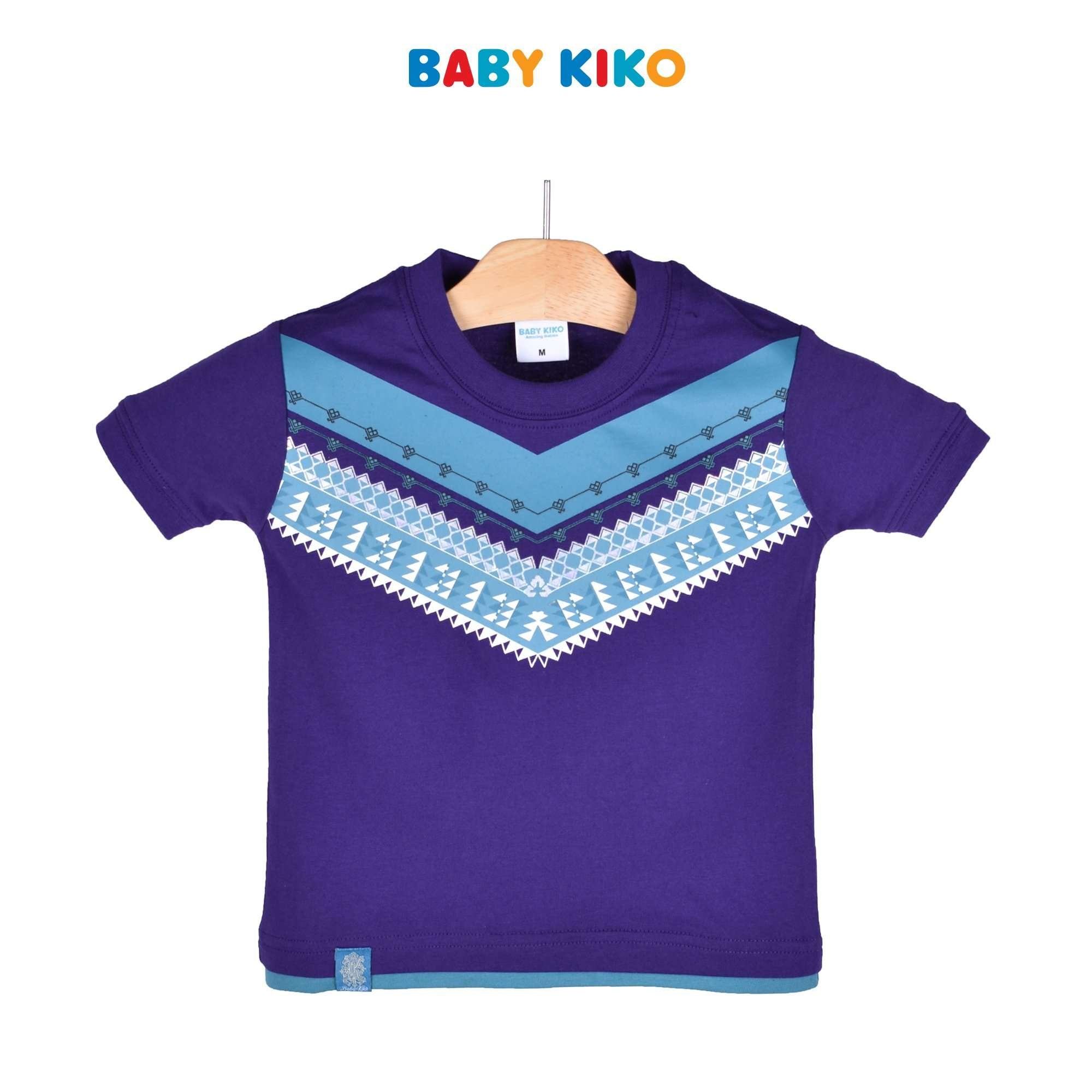 Baby KIKO Toddler Boy Short Sleeve Tee 335116-111 : Buy Baby KIKO online at CMG.MY