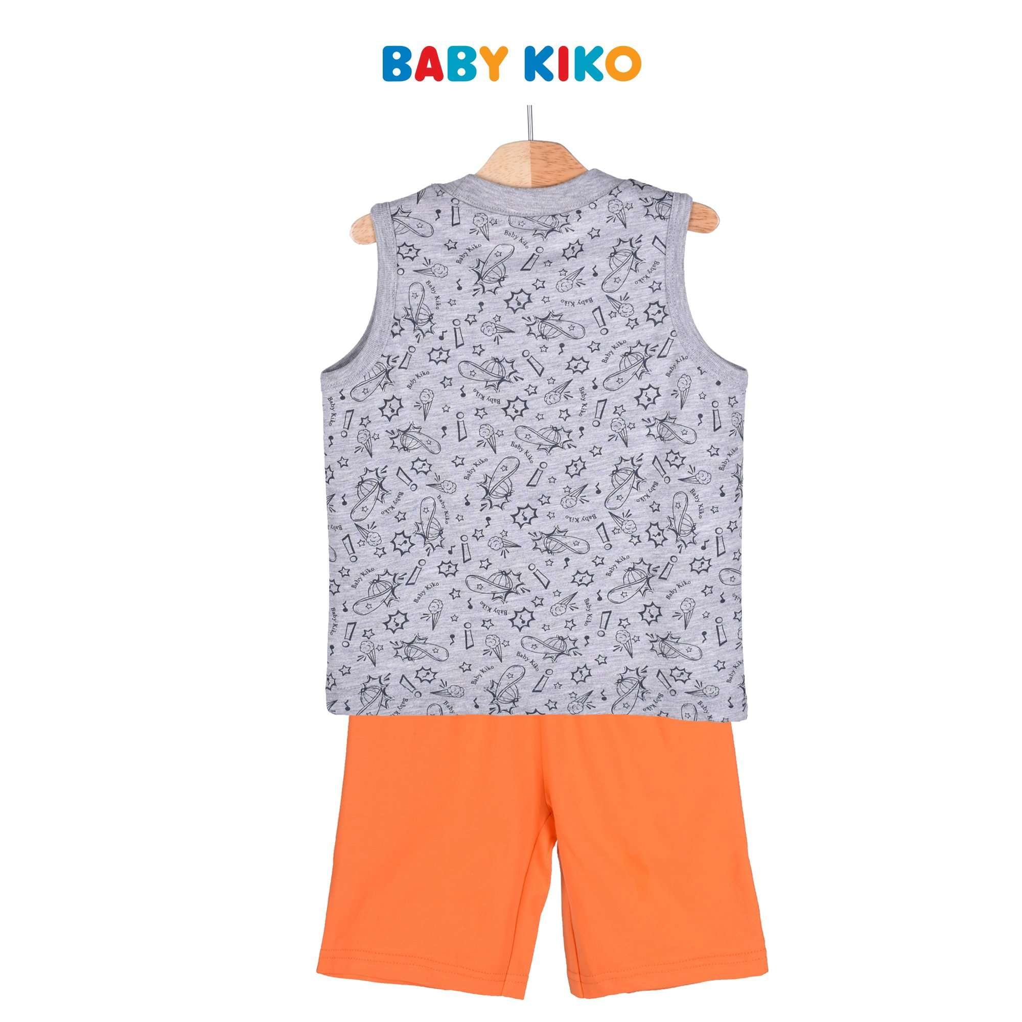Baby KIKO Toddler Boy Sleeveless Bermuda Suit 325151-402 : Buy Baby KIKO online at CMG.MY