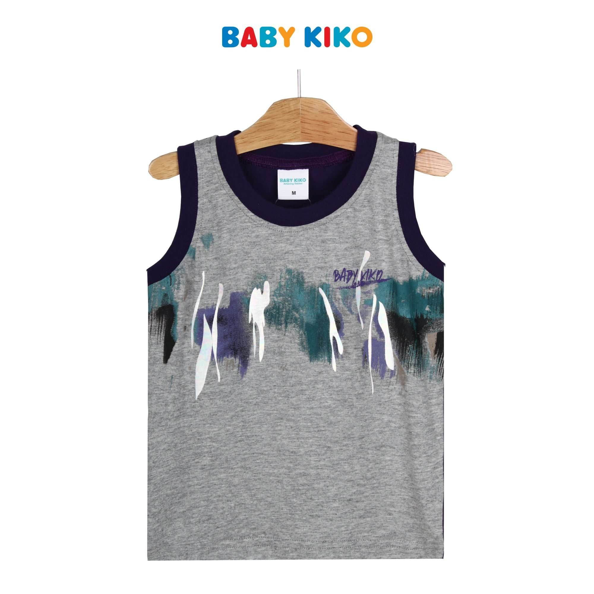 Baby KIKO Toddler Boy Sleeveless Tee - Purple Reign 335107-101 : Buy Baby KIKO online at CMG.MY