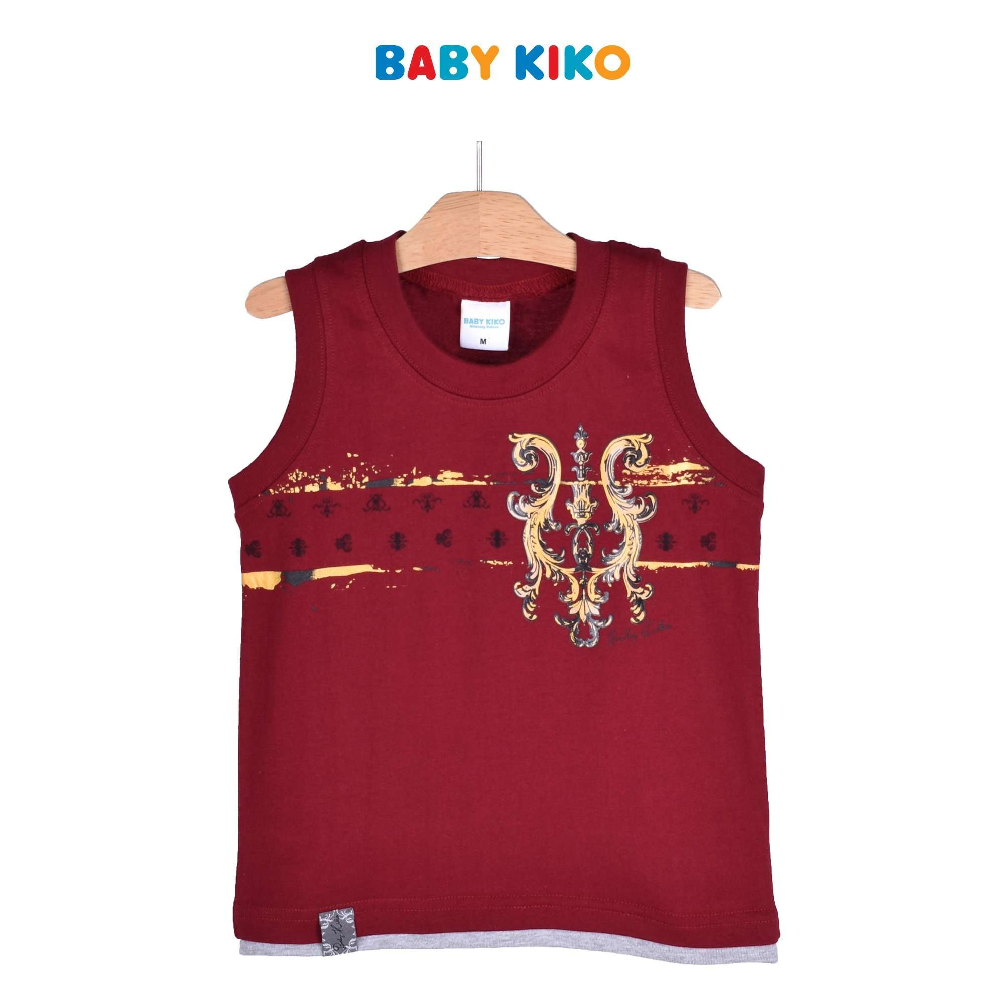 Baby KIKO Toddler Boy Sleeveless Tee 335105-101 : Buy Baby KIKO online at CMG.MY