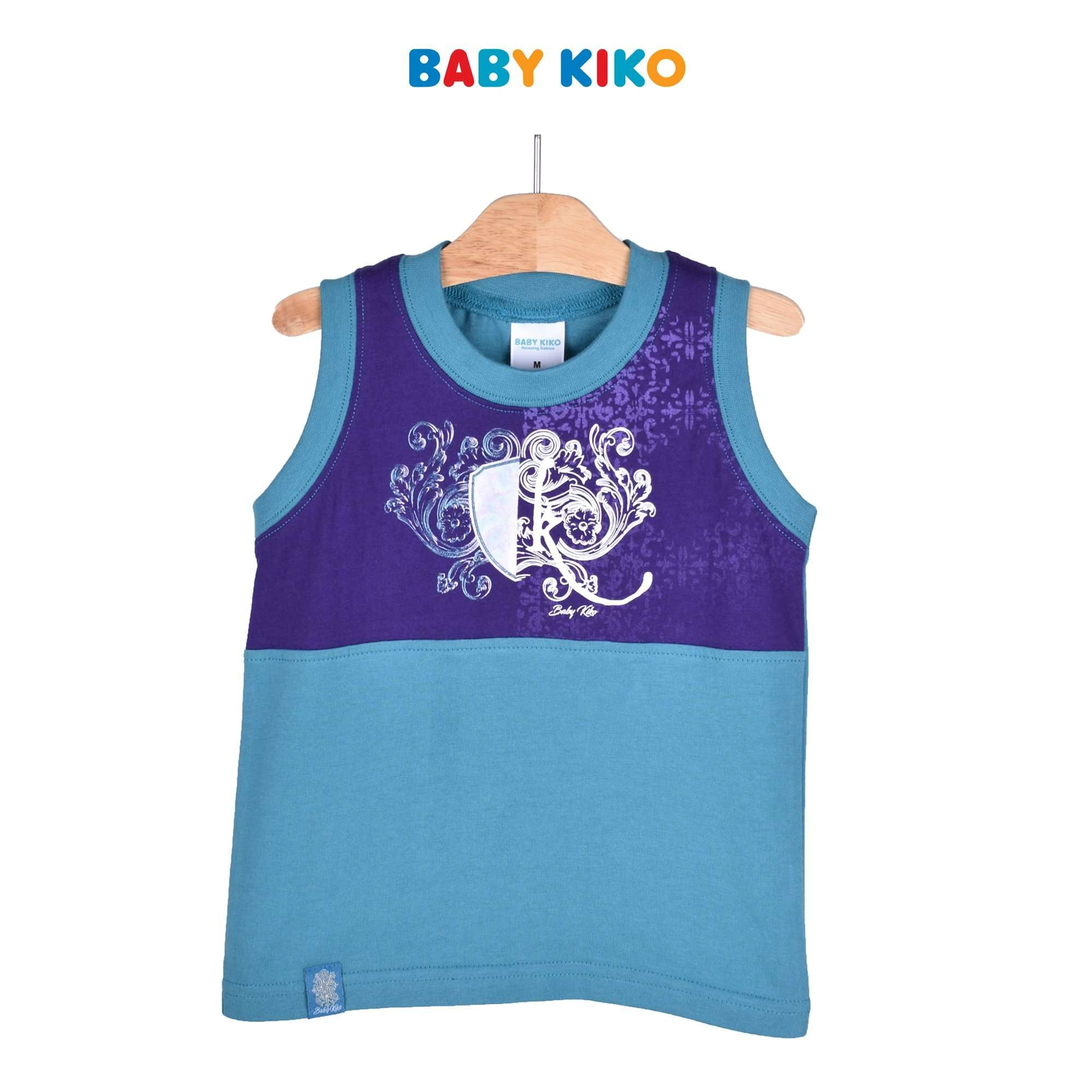 Baby KIKO Toddler Boy Sleeveless Tee 335116-101 : Buy Baby KIKO online at CMG.MY