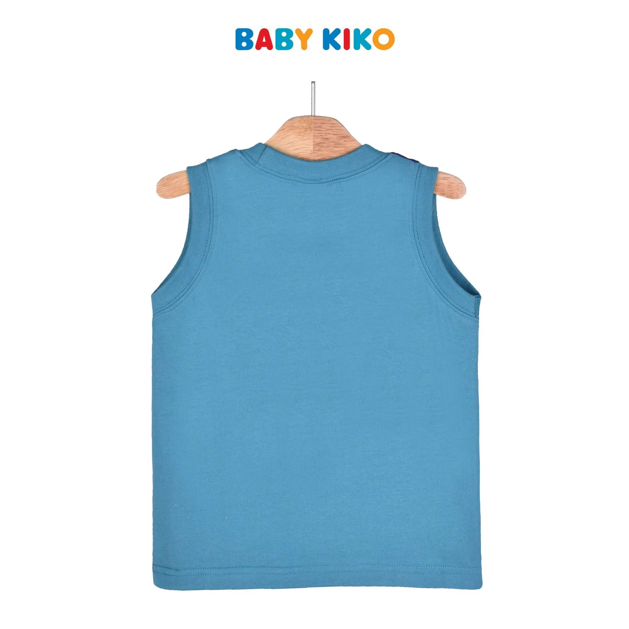 Baby KIKO Toddler Boy Sleeveless Tee Knit 335116-101 : Buy Baby KIKO online at CMG.MY