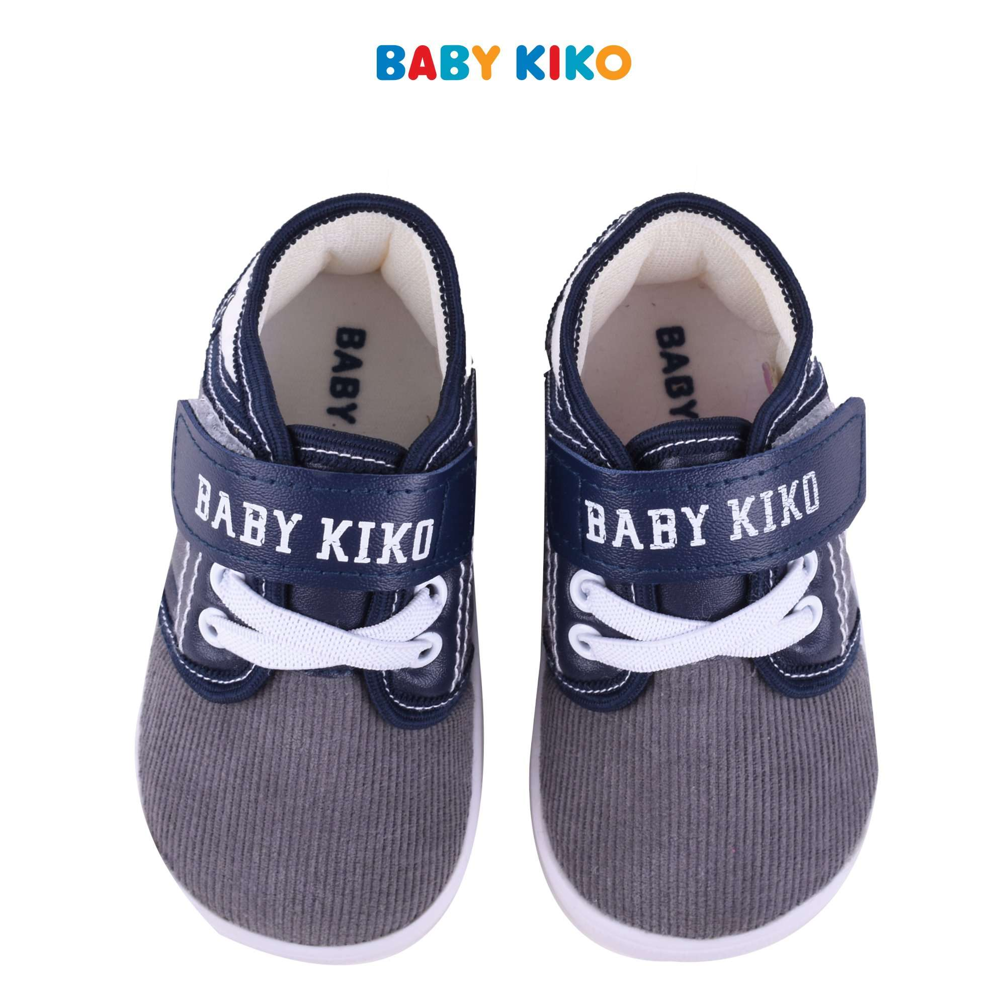 Baby KIKO Toddler Boy Textile Shoes- Grey B922106-5089-G5 : Buy Baby KIKO online at CMG.MY