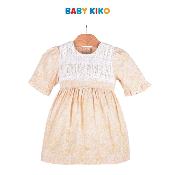 Baby KIKO Toddler Girl Long Sleeve Dress 315070-312 : Buy Baby KIKO online at CMG.MY